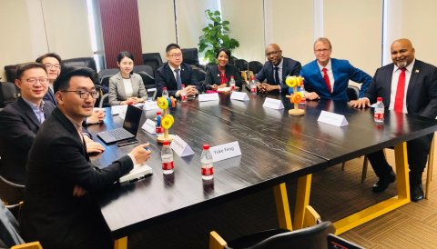 Chinese Firms learn more about opportunities in Trinidad and Tobago at COIFAIR